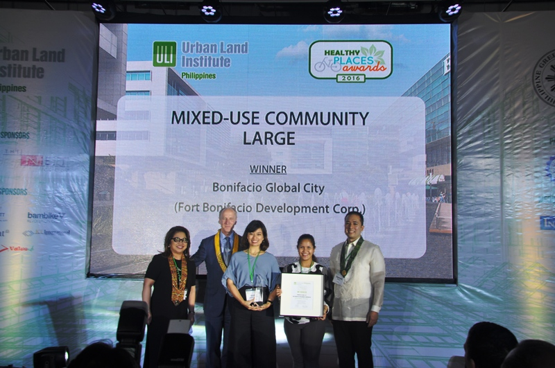 BGC Wins ULI Healthy Places Awards 2016