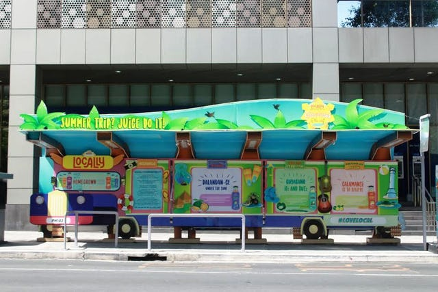 #NUTRIASIAHAPPYSHED: The Most Creative Bus Stop In BGC